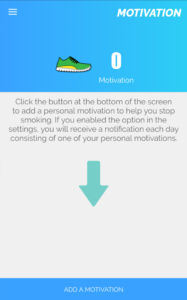 motivation page quit smoking app